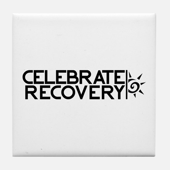 EastLake Church Celebrate Recovery Tile Coaster