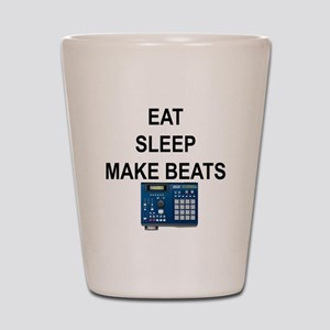 eatsleepmakebeats Shot Glass