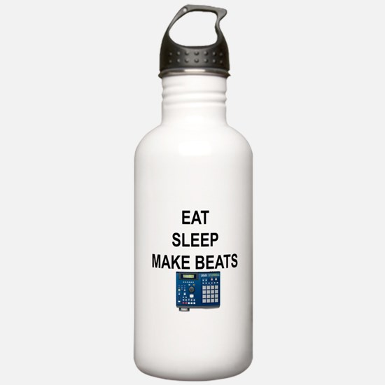 eatsleepmakebeats.png Water Bottle