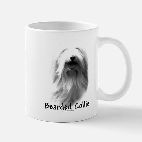 Bearded Charcoal Mug
