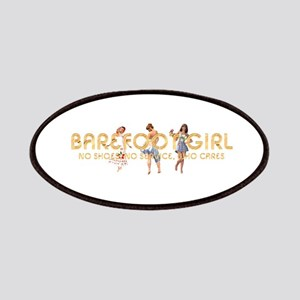 Barefoot Girl Patch