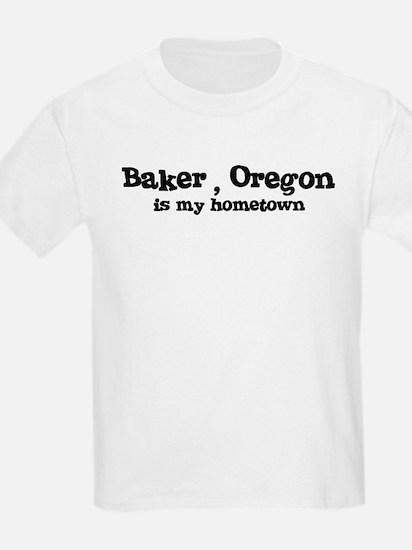 Baker - Hometown Kids T-Shirt