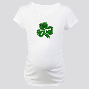 Come and Take It (Shamrock) Maternity T-Shirt