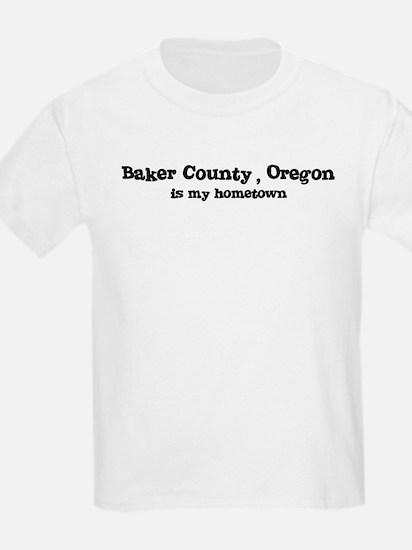 Baker County - Hometown Kids T-Shirt
