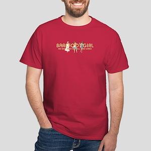 Barefoot Girl Dark T-Shirt