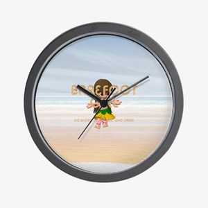 Barefoot Girl Wall Clock