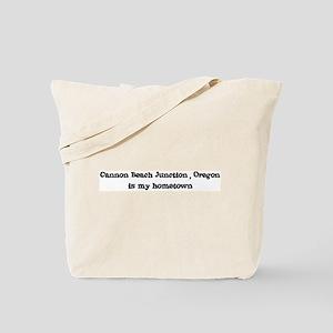 Cannon Beach Junction - Homet Tote Bag
