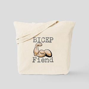 Bicep Fiend Tote Bag