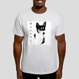 Basenji 3 Ash Grey T-Shirt