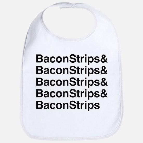 Bacon Strips Bib