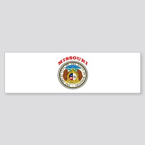 Missouri State Seal Sticker (Bumper)