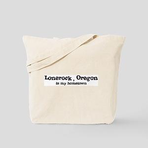 Lonerock - Hometown Tote Bag
