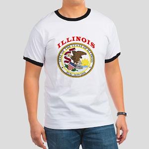 Illinois State Seal Ringer T