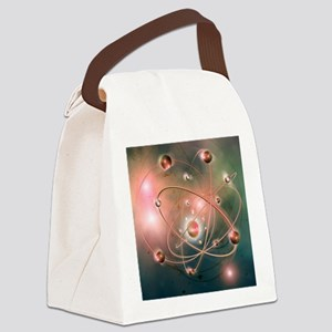 Atomic structure - Canvas Lunch Bag
