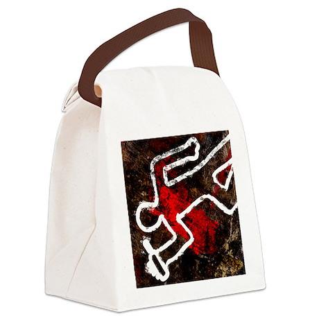al artwork - Canvas Lunch Bag