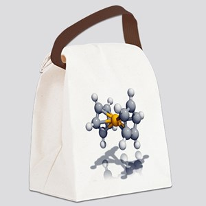 Ferrocene molecule - Canvas Lunch Bag
