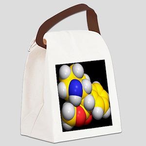 Ritalin molecule - Canvas Lunch Bag