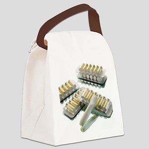 Nicotine inhalator - Canvas Lunch Bag