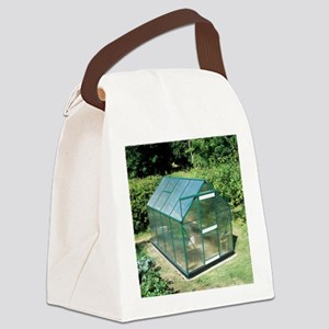 Polycarbonate greenhouse - Canvas Lunch Bag