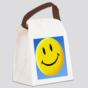 Smiley face symbol - Canvas Lunch Bag