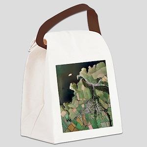 Boscastle, Cornwall - Canvas Lunch Bag
