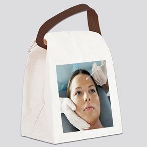 Botox treatment - Canvas Lunch Bag
