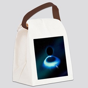 Hawking radiation research - Canvas Lunch Bag