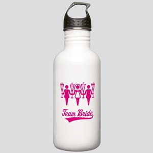 Team Bride (Bachelorette Party), magenta Stainless