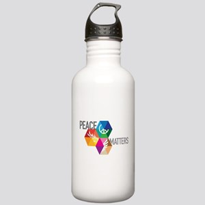 PEACE MATTERS Stainless Water Bottle 1.0L