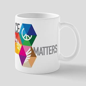 PEACE MATTERS Mugs
