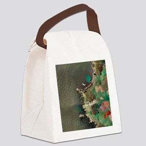 Land's End, UK, aerial image - Canvas Lunch Bag