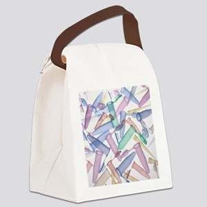 Pipette tips and sample tubes - Canvas Lunch Bag