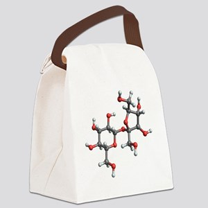 Sucrose molecule - Canvas Lunch Bag