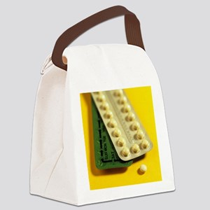 Oral contraception - Canvas Lunch Bag