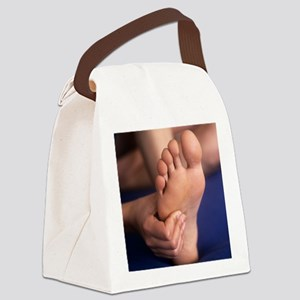 Reflexology massage - Canvas Lunch Bag