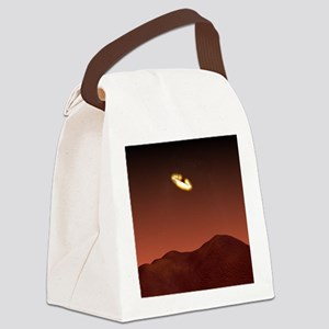 Beagle 2 landing on Mars - Canvas Lunch Bag
