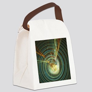 Black hole - Canvas Lunch Bag