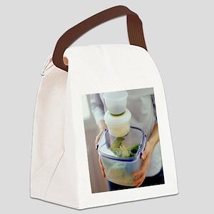 Salad ingredients - Canvas Lunch Bag