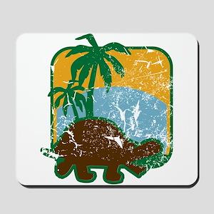 Schildkröte (used) Mousepad