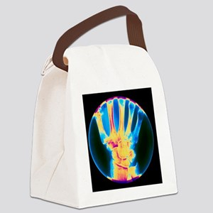 wrist of the hand - Canvas Lunch Bag