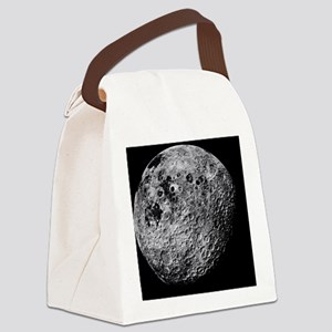Far side of the Moon - Canvas Lunch Bag