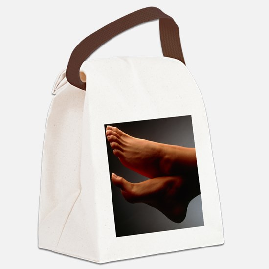 f a woman - Canvas Lunch Bag