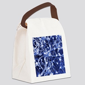 Neural network - Canvas Lunch Bag