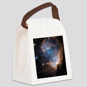 Starbirth region NGC 602 - Canvas Lunch Bag