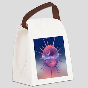 Virus - Canvas Lunch Bag