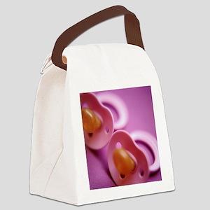 Twins' dummies - Canvas Lunch Bag