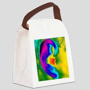 uman ear - Canvas Lunch Bag