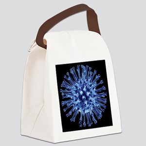 k - Canvas Lunch Bag