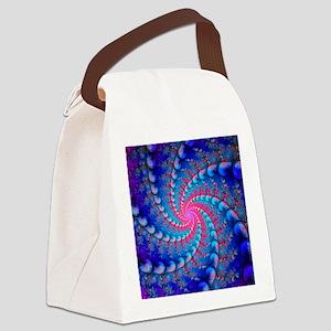 Julia fractal - Canvas Lunch Bag