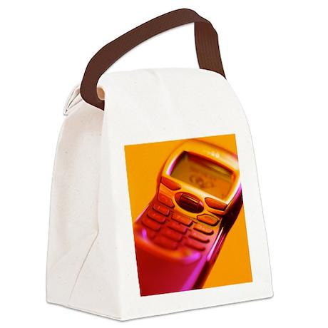 WAP mobile telephone - Canvas Lunch Bag